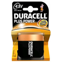 Duracell MN1203 Plus Power blister 1 pila Piatta 4,5 V 3LR12