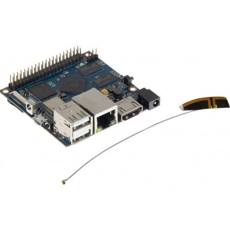 Banana PI M2+ Quad core 1 GB RAM, USB, 8GB eMMC, HDMI, WiFi, BT, LAN 1000Gbps