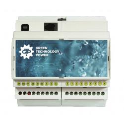 FREE8 Centralina irrigazione 8 zone 24VAC 9VDC programmazione USB intelligente