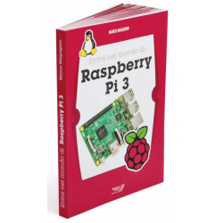 """LIBRO """"Entra nel mondo di Raspberry PI 3"""" guida primi passi e uso - RASPBOOK3"""