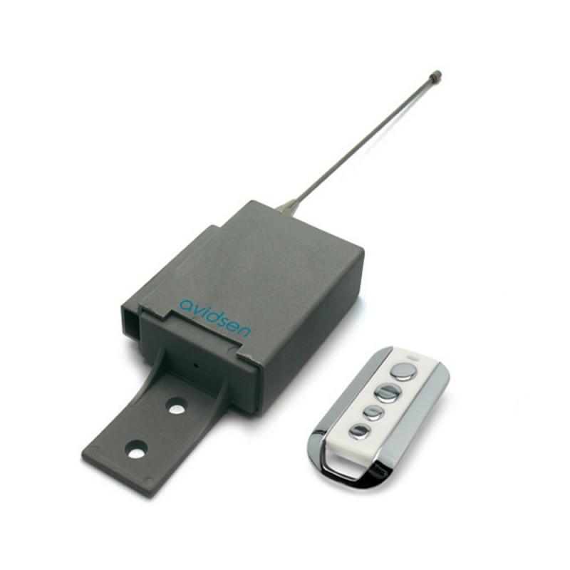 KIT Radiocomando universale 433 cancelli automatici garage + telecomando Avidsen