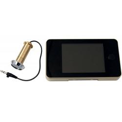 """Spioncino digitale telecamera display 3.5"""" porta colore ORO diurno notturno"""