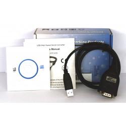 Serieller USB-Konverter mit DB-9 RS232-kompatiblem FTDI-Chip