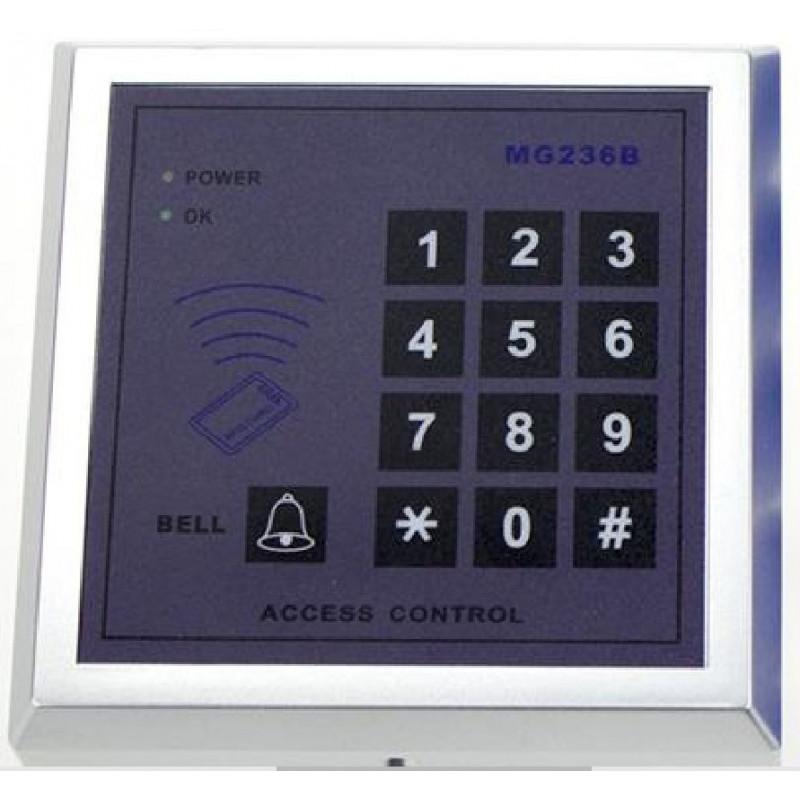 Serratura elettronica RFID + Tastiera codice 10000 utenti relè apriporta 12V DC