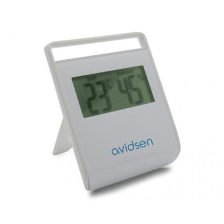 Rilevatore di temperatura -10°C +50°C e umidità da 25% a 95% da interno Avidsen