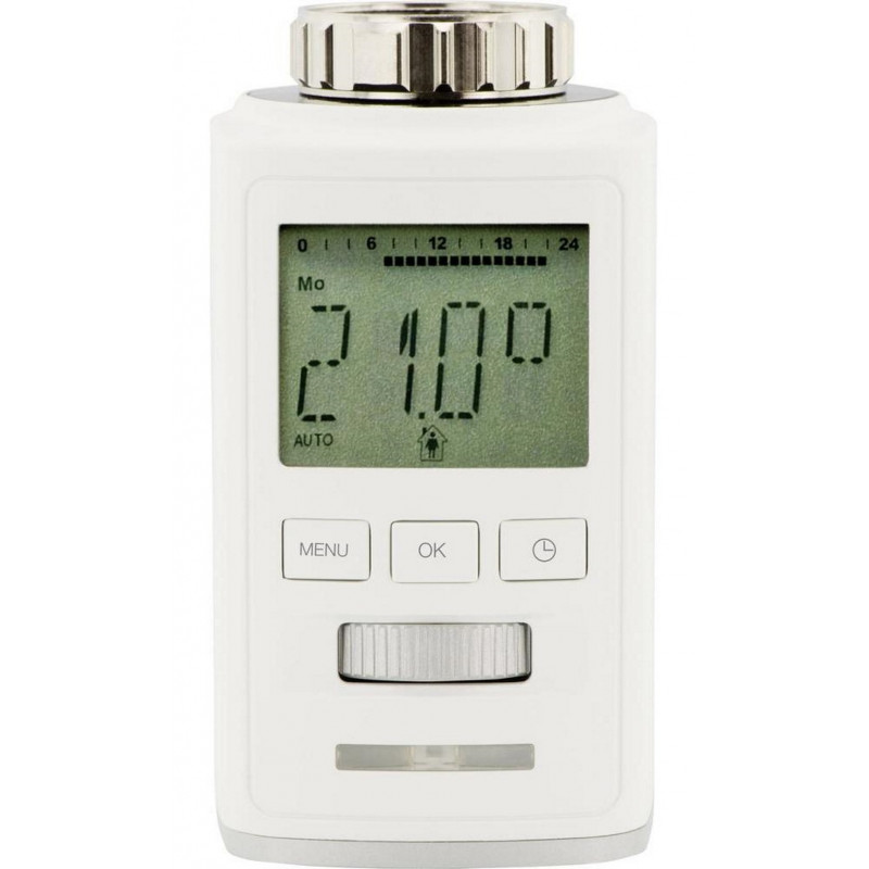Testina crono termostatica digitale radiatore Bluetooth LE con APP smartphone