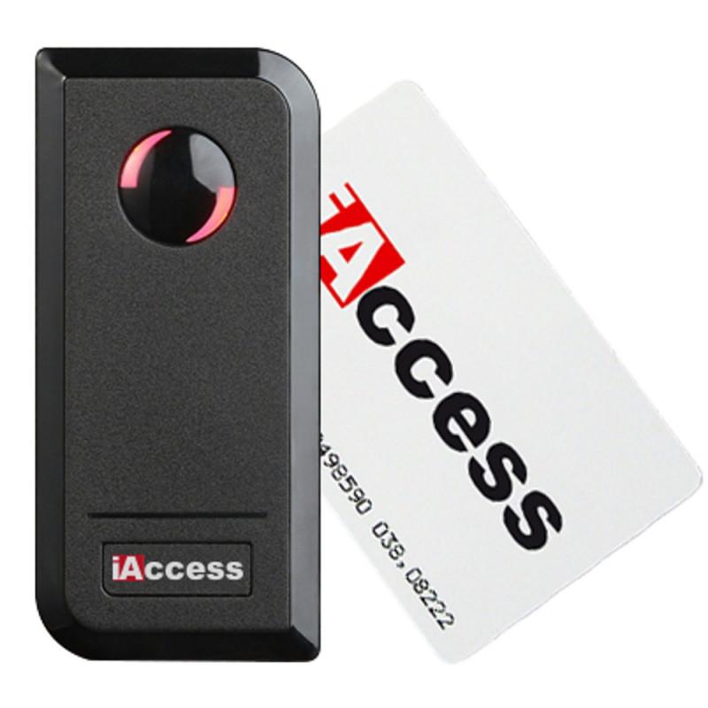 Lettore Wiegand antivandalo iAccess MX tastiera RFID esterno interno Arduino