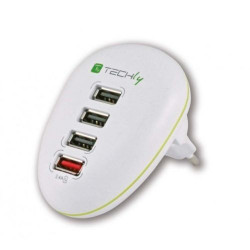 5VDC 2,5A stabilized switching 4 ports USB power supply for Tablet, Smarphone
