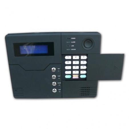 Drahtloser Einbruchalarm mit PSTN-GSM-Modem und optionalen Kabelverbindungen