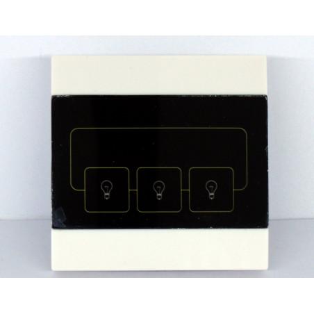Commutateur TOUCH à 3 boutons pour appareils 220V et télécommande 868 MHz