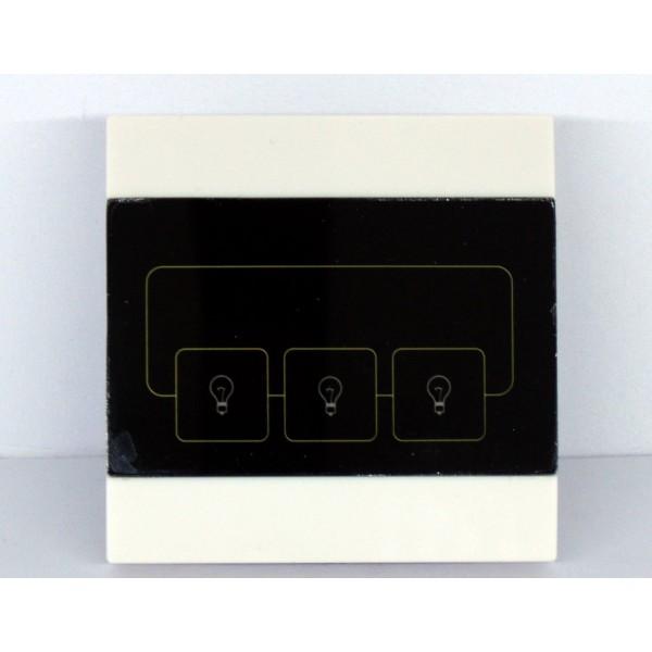 Interruttore touch 3 pulsanti per dispositivi 220v e for Interruttori touch