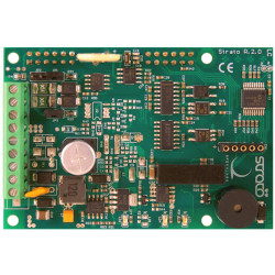 Strato PI BASE Shield Raspberry PI 2,3 RTC, RS232/485, PSU 9-28VDC, watchdog