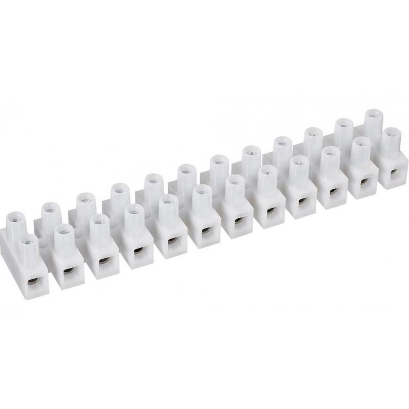 12x Morsetto vite 4-10 mm² mammut 57A 500V con protezione cavi