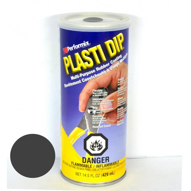 Gomma Liquida grigio metallico barattolo Plasti Dip® 429ml resistenza UV e atmosferici
