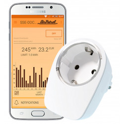 AirPatrol SmartSocket presa intelligente per AirPatrol WiFi controllo accensione consumo