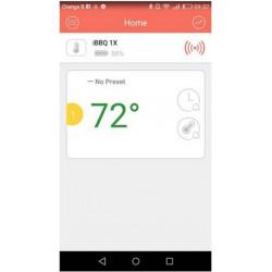 Sonda de termómetro inalámbrica para barbacoa APLICACIÓN Bluetooth Android iOs smartphone