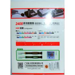 Set cacciaviti accessori precisione riparazione SmartPhone Tablet PC elettronica