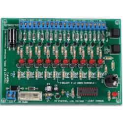 KIT 10 LIGHT EFFECTS 10 CHANNELS 400mA PROGRAMMABLE 12V DC
