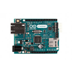 Arduino Ethernet without POE board scheda sviluppo microcontrollore LAN SD card