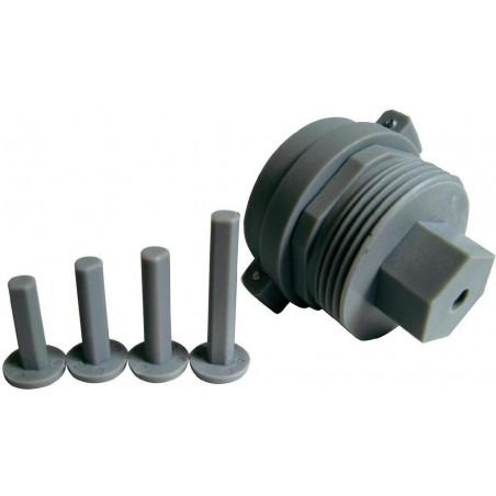 Adattatore universale valvole radiatori M28 x 1.5 mm per testina termostatica