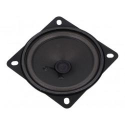 Speaker miniaturized speaker 4 Ohm 10W square 87mm faston contacts