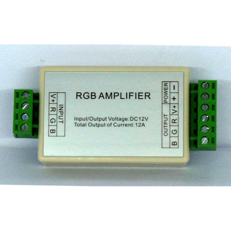 RGB-Verstärker für 12V 4A Common Anode LED-Streifen