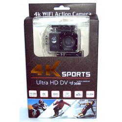 Action sport camera Full HD camera, LCD display, microSD, HDMI, USB 2, WiFi