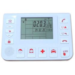 Remote assistance alarm control unit GSM 433 USB hybrid PC Helpami Gold