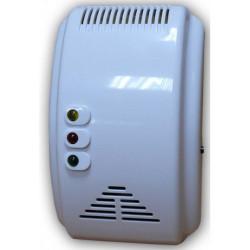 Sensore fuga GAS metano a spina 220V sirena allarme Helpami Gold con TX 433Mhz