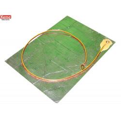 Accesorio de alfombra conductora para generadores de alto voltaje Kemo M176 M186