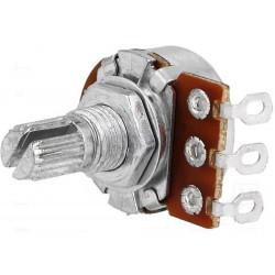 Axial single turn potentiometer 10kΩ 63mW ± 20% 6mm logarithmic metal