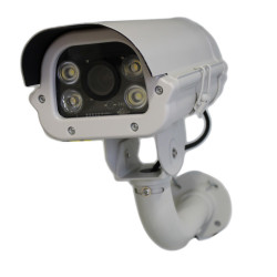 Cámara IP ONVIF 2 MPX Lectura de matrícula 6-22 mm Luz LED automática incorporada