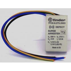 FINDER 7P.32 Scaricatore di sovratensione protezione fulmini 230V da incasso