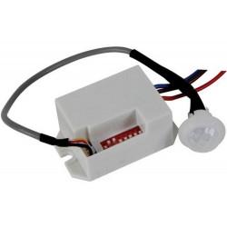 Mini sensore movimento PIR 12V DC crepuscolare timer interruttore 30V 2,5A MAX