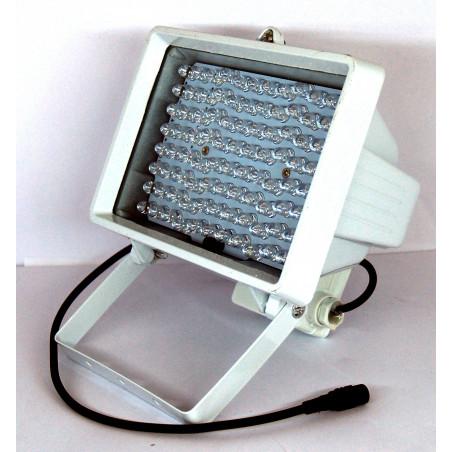 Illuminatore notturno 96 led infrarossi ad alta luminosità per videosorveglianza