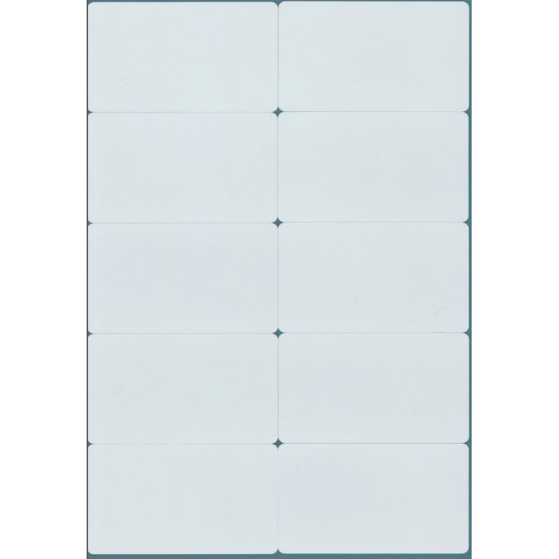 10 EM4100 125kHz RFID-KARTEN WEISS