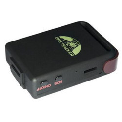 GPS LOCATOR GSM GPRS MICROPHONE and Power supply plug and vehicle battery