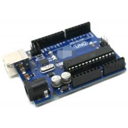 Placa de desarrollo de microcontrolador COMPATIBLE con placa Arduino