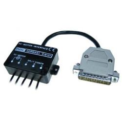 Interfaccia parallela LPT driver controllo motori CC per PC 5..24V DC 2A MAX
