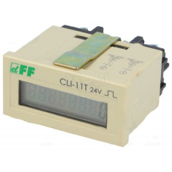 Electronic counter pulse count 4-30V DC pulse input 24V RESET battery