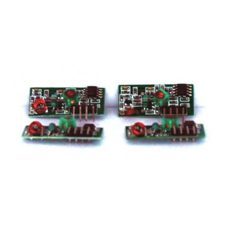 4 Moduli ricevitore RF AM OOK wireless 433,92 MHz 3-12V per Arduino e embedded