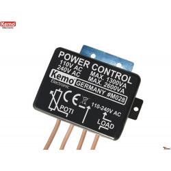 CONTROLLO POTENZA 110-240V 2600VA per motori, riscaldatori e lampadine