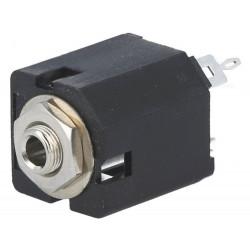 Presa Jack 3,5mm femmina stereo dritto per pannello THT