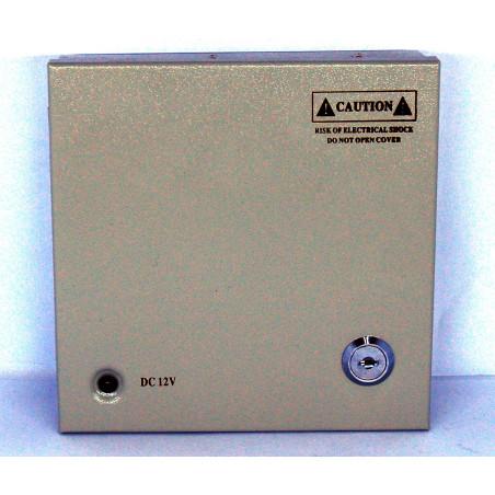 Alimentatore centralino 4 canali 12V per videosorveglianza o dispositivi a 12VDC