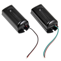 MINI INFRARED PHOTOCELL BARRIER FOR INDOOR / OUTDOOR 10-20 METERS 12-24V