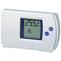 Electronic digital heating air conditioning thermostat