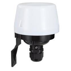 Interruttore crepuscolare uso esterno IP 44 luce regolabile Electraline 58062