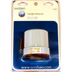 Avidsen crépusculaire extérieur Avidsen 230V 25A avec réglage de la luminosité
