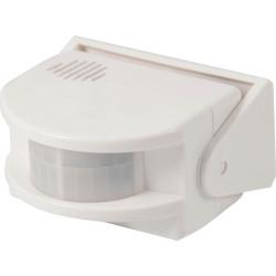 9V battery-powered wall bell alarm bell with PIR motion sensor