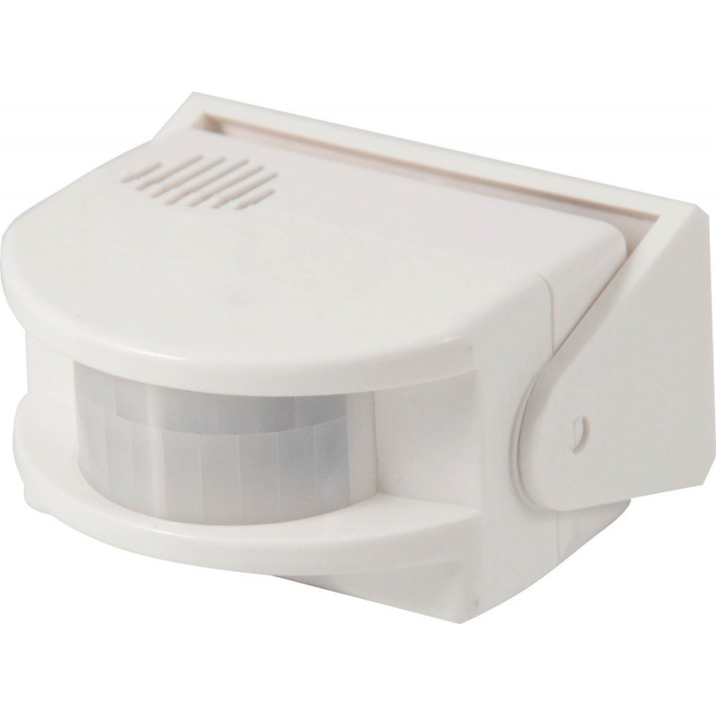 Campana de alarma de pared a batería de 9 V con sensor de movimiento PIR